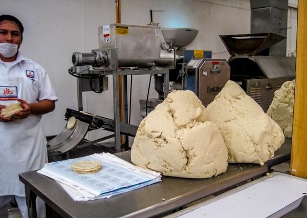 masa dough corn tortillas cozumel mexico