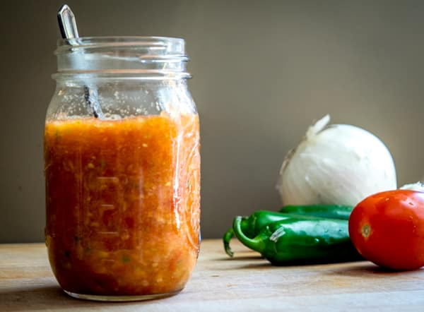 This Tomato Jalapeno Salsa is the Mother of all Mexican Salsas. Getting the heat level to your liking opens up infinite possibilities. mexicanplease.com