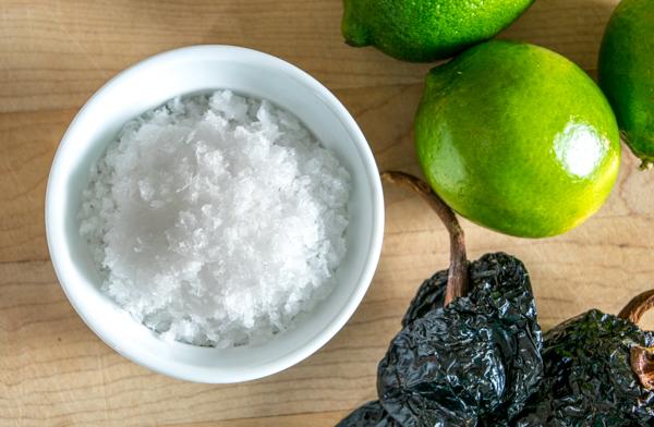 ancho chili lime flavored salt
