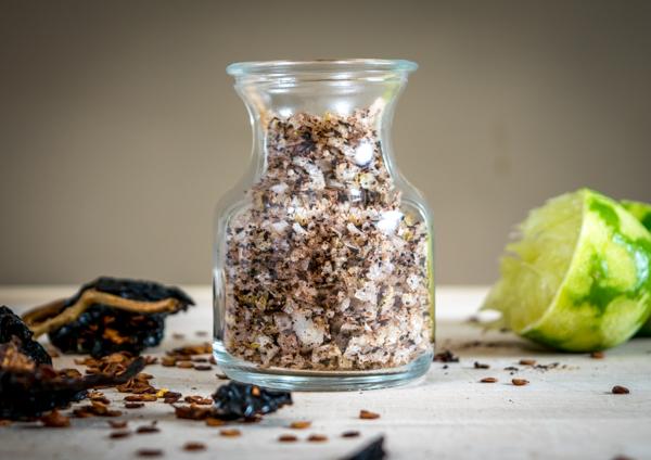 chili lime flavored salt less exposure