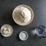 homemade flour tortillas three ingredients
