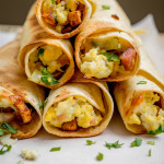 Baked Breakfast Taquitos mexicanplease.com