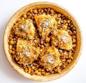 Chicken in Peanut Sauce Pollo Encacahaute mexicanplease.com