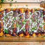 Ancho Chicken Enchiladas | mexicanplease.com