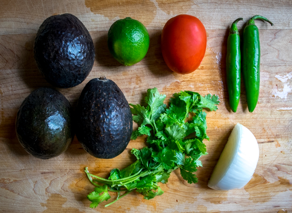 standalone guacamole ingredients