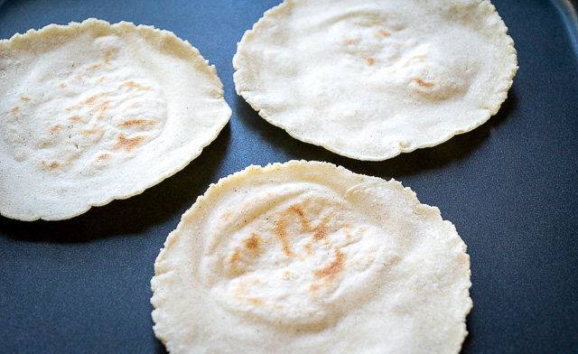 Ahh tortillas, the cradle of Mexican cuisine. It's surprisingly easy to make a batch of fresh, homemade corn tortillas that might just convert you over for life. So good! mexicanplease.com