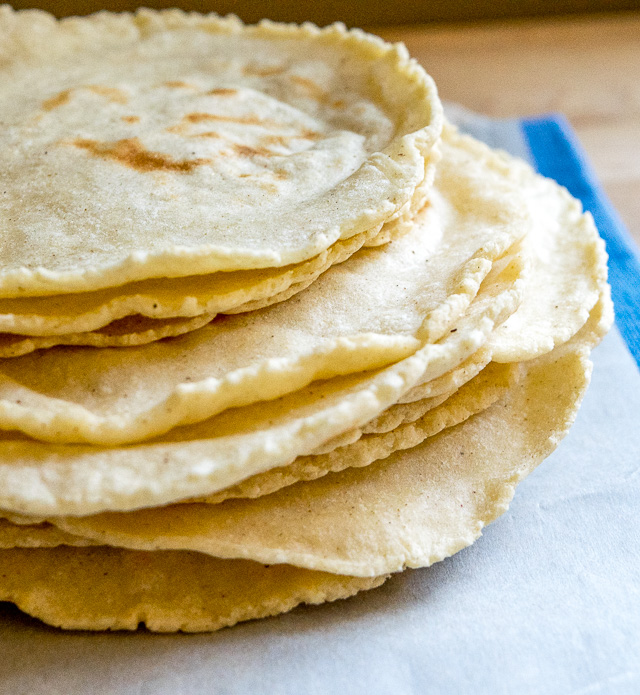 Homemade Corn Tortillas | Mexican Please