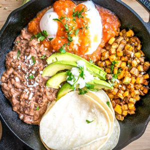 'Come and Get It' Huevos Rancheros Skillet mexicanplease.com