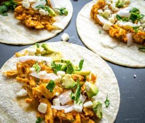 Chicken Tinga Tacos (Are Everywhere)