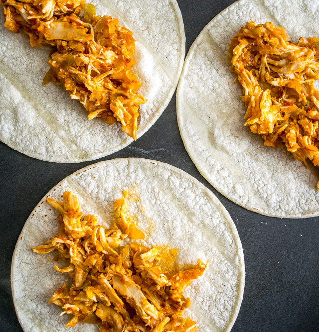 These Chicken Tinga Tacos are the real deal and worthy of being called Tingalicious!!! mexicanplease.com