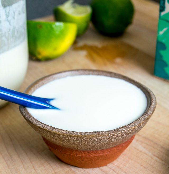 O' Mexican Crema where art thou? If you're tired of searching for Mexican Crema in the markets here's the easiest way to make your own at home (also includes some quick and dirty substitutes) mexicanplease.com