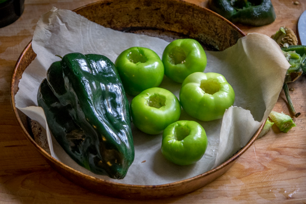 Add a bit of cream to a traditional green sauce and you've got everything you need to make mouth-watering Enchiladas Suizas. This recipe also uses a roasted poblano to enhance the flavor. So good! mexicanplease.com
