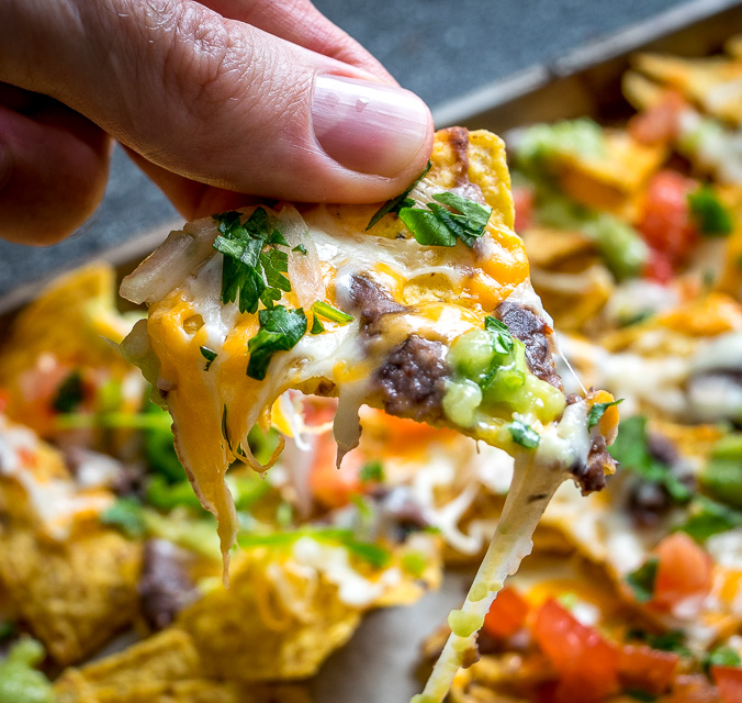 cheese, and spicy black beans. In other words, NACHOS!! These beans ...
