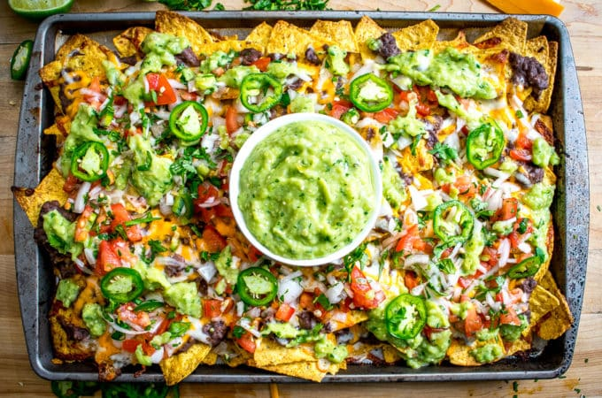 chips, melted cheese, and spicy black beans. In other words, NACHOS ...