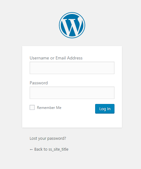 how to start a food blog site admin url