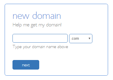 starting a food blog bluehost domain checker