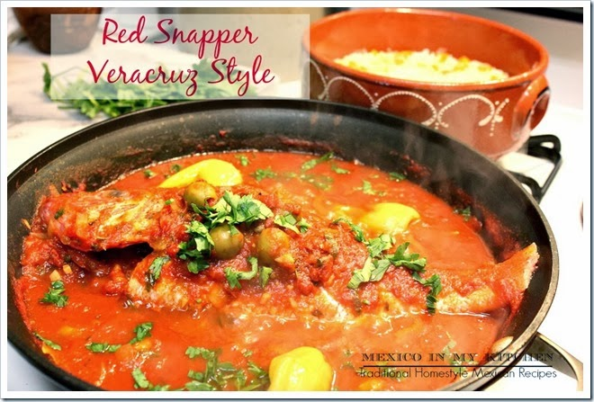 Red-Snapper-Veracruz by Mexico in My Kitchen