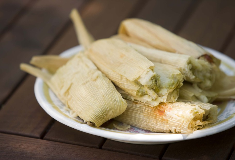 chicken green sauce tamales by pati jinich