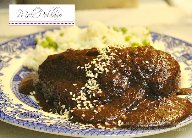 Authentic mexican entrees mexican please mole poblano by mexico in my kitchen forumfinder Images