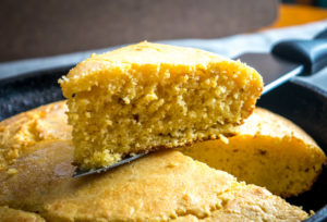Sweet Chipotle Skillet Cornbread