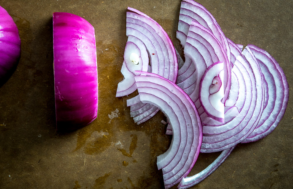 Here's an easy recipe for a quick batch of delightful pickled onions. You can use these on sandwiches, tacos, tostadas, or anything that needs a final dash of zip to liven it up. So good! mexicanplease.com