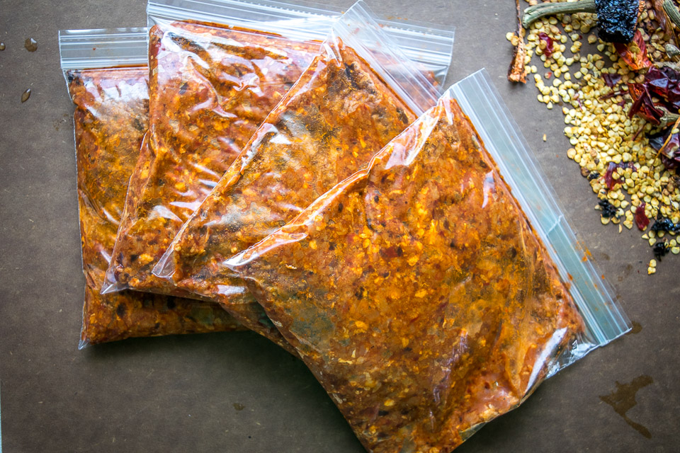 This is the express version of homemade chorizo. All you really need is ground pork