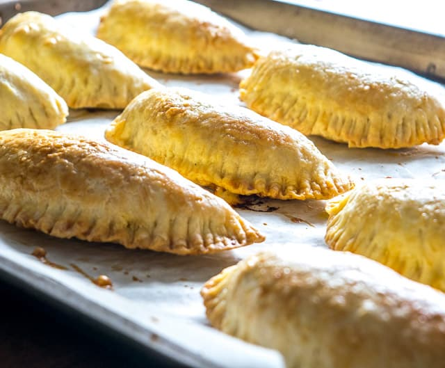 Flaky, tender dough make these empanadas a recipe worth repeating. We're using a delicious spicy beef mixture to kick them up a notch. So good! mexicanplease.com