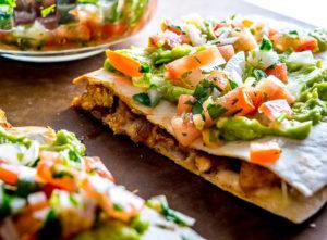 Dinner Now! 15 Minute Chicken Guacamole Quesadillas