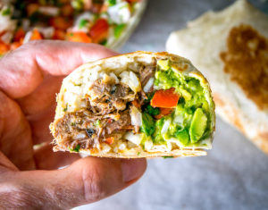 Barbacoa Beef Burritos