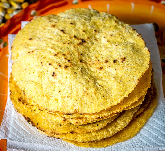 This masa dough is a great starting point for homemade corn tortillas, tamales, and pupusas. We're taking a shortcut by using a food processor to grind the corn and so far the results are fantastic! mexicanplease.com