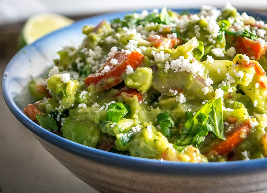 Here's a delicious avocado salad recipe that only takes 10 minutes to make. You can get creative with the fixings but make sure to season with 1/4 teaspoon of salt for each avocado. So good! mexicanplease.com