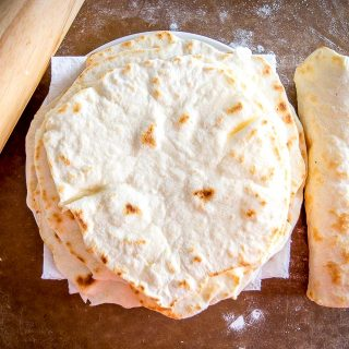 Flour tortillas are so easy to make at home! You probably already have these ingredients on hand as this version uses olive oil instead of lard. So good! mexicanplease.com