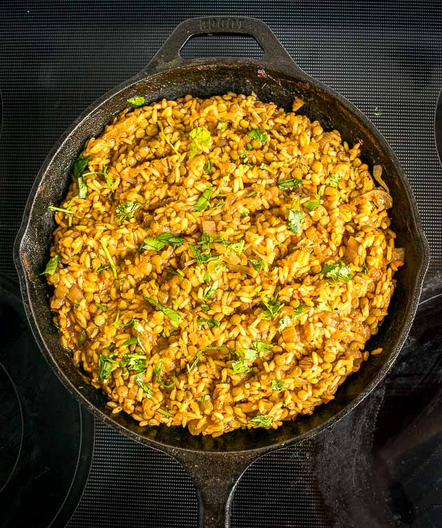 Here's an easy way to make a delicious Lentils and Rice dish. You can go easy on the chipotle if you want a milder version. mexicanplease.com