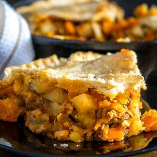 Here's a great way to serve up a batch of Mexican Picadillo. The flaky pastry is a perfect match for the hearty beef and potatoes. So good! mexicanplease.com