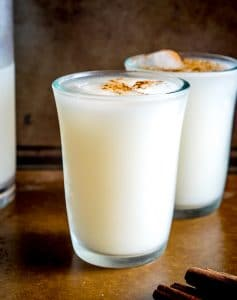Mexican Horchata:  Rice and Almond Drink