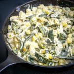 Finally a Rajas recipe! Roasted poblano strips swimming in a creamy sauce makes the perfect side dish. I add potatoes and some stock to turn it into a meal -- so good! mexicanplease.com