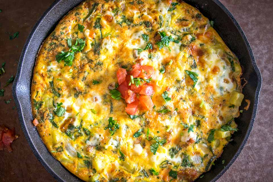 Here's an easy, versatile recipe for a zippy Mexican Frittata. I find the chorizo-jalapeno-cheese combo irresistible but you can always make a vegetarian version too. So good! mexicanplease.com