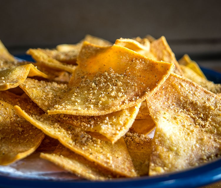 Baked Tortilla Chips Mexican Please