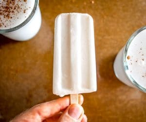 Make a homemade batch of Horchata and you can keep a few of these popsicles in the freezer. We added coconut milk to this batch and they are delicious! mexicanplease.com