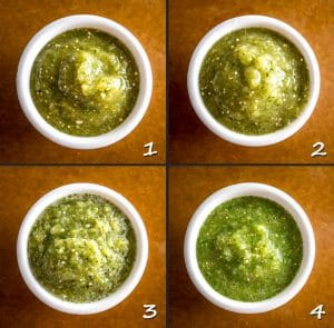 Here are four different ways to make Salsa Verde -- I typically use the oven to roast the tomatillos but the broiler comes in a strong second. mexicanplease.com