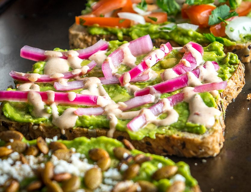 Keep your kitchen stocked with the usual Mexican ingredients and you'll always have the option of whipping up some delicious Mexican Avocado Toast. So good! mexicanplease.com