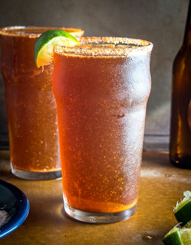 This is a fiery, easy-to-make Michelada recipe that is great option for anyone disappointed in the watered down versions on the market. Yum! mexicanplease.com