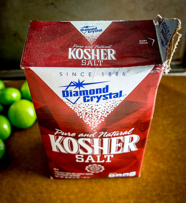 diamond crystal kosher salt used for pickling tomatillos