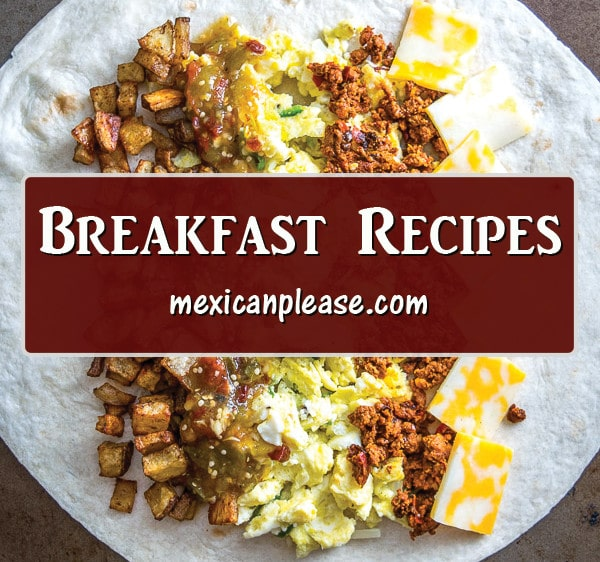 easy mexican recipes to make for breakfast