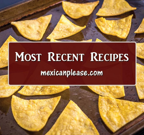recent recipes on MexicanPlease