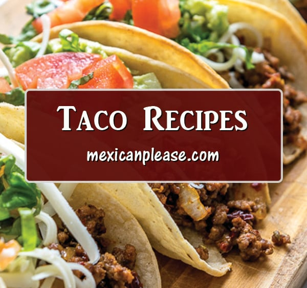 recipes for making homemade tacos