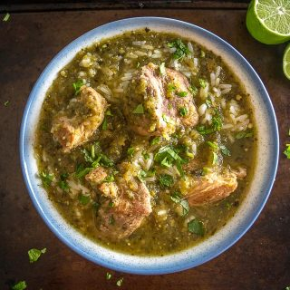 This is a great recipe for a comforting batch of Chili Verde. I use the leftovers to make some killer burritos and quesadillas. So good! mexicanplease.com