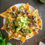 This recipe is proof that Chilaquiles are wildly versatile. I'm using Black Beans, Avocado and Pickled Jalapenos for this batch -- along with a homemade Tomatillo Chipotle Salsa! mexicanplease.com