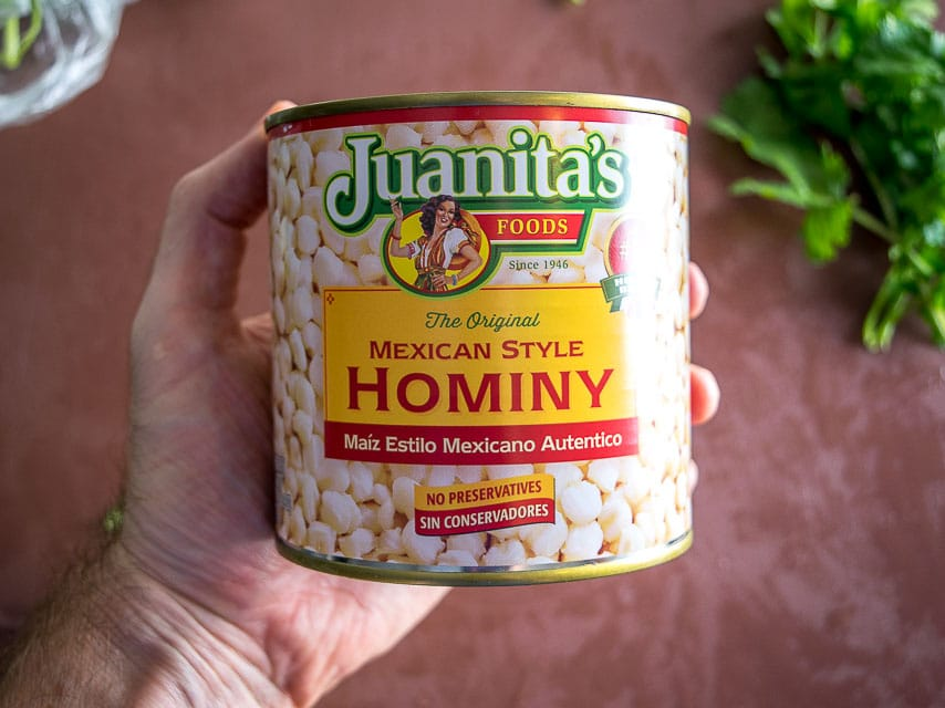 canned hominy