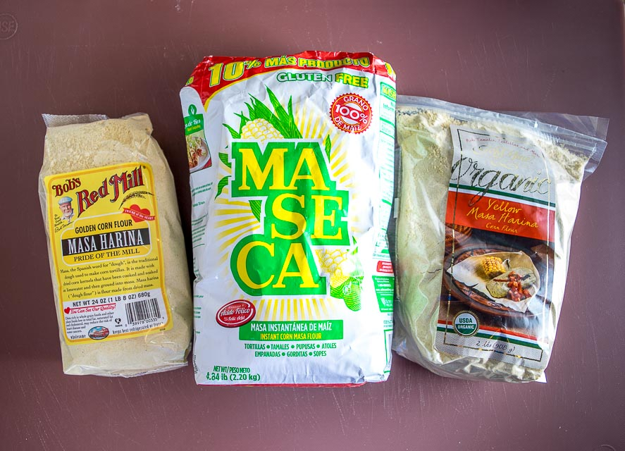 Here are 3 different Masa Harinas to choose from for your next batch of tamales or corn tortillas. Yum!! mexicanplease.com
